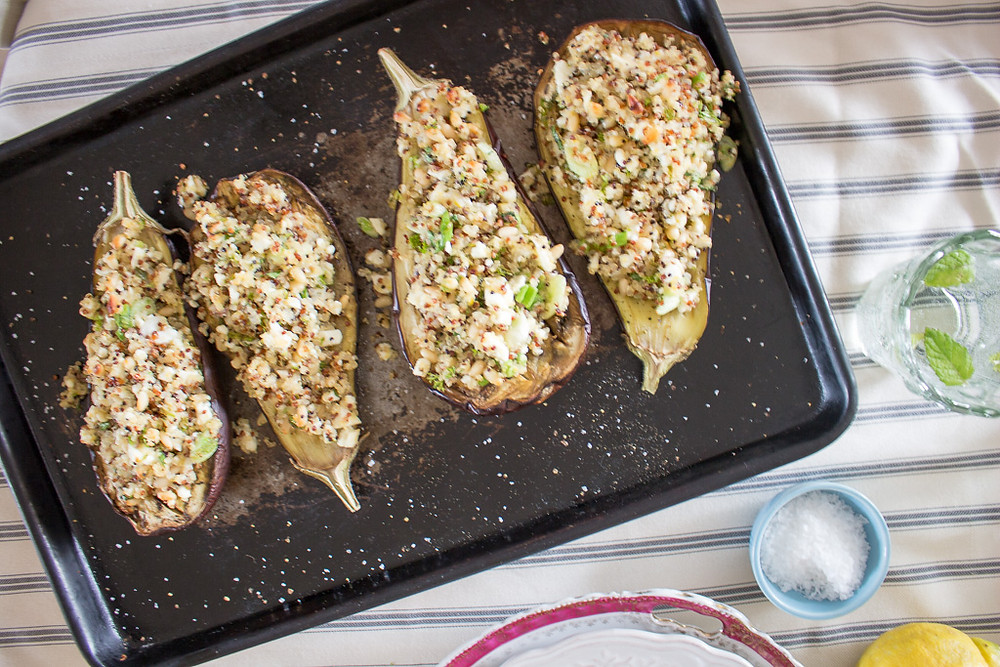 Photo of Roast Aubergines