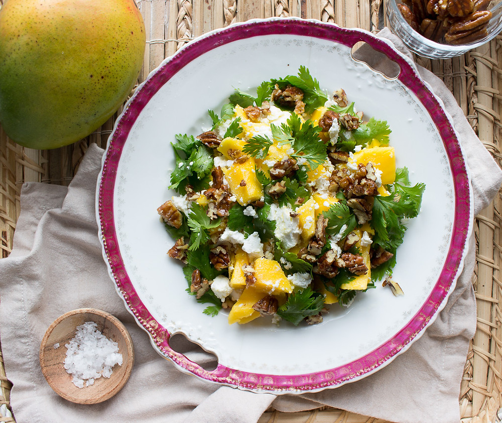 Picture of Mango & Goat's Cheese Salad