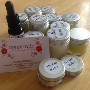 Natural Skincare from MySkin.ie