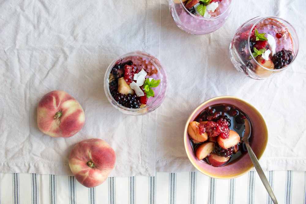 Image of Berry and Peach Pots