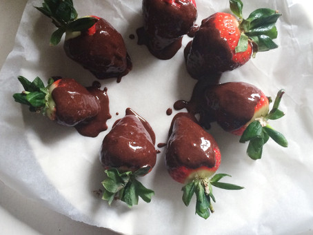 Recipe: Chocolate Dipped Strawberries