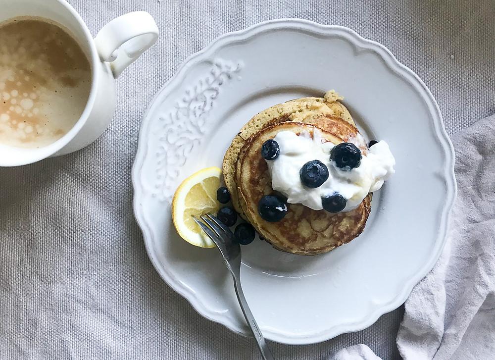 Three Ingredent Pancakes