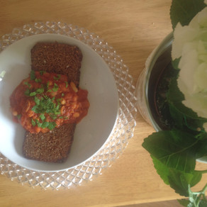 Recipe: Smoky baked beans in tomato sauce