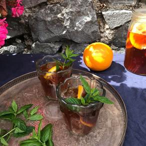 ORANGE & MINT ICED TEA