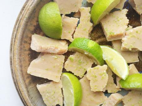 Recipe: White Chocolate and Lime Fudge