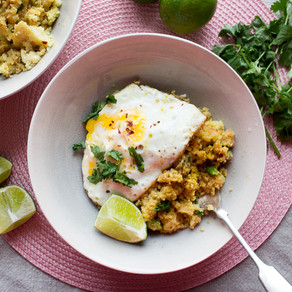 MISO CAULIFLOWER RICE WITH EGGS