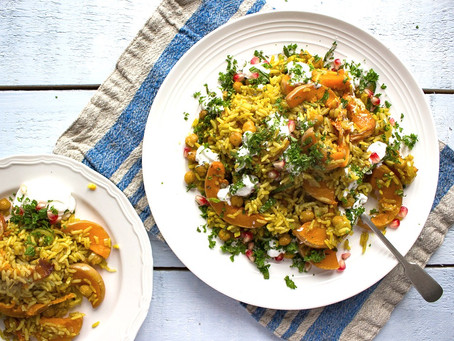 FIVE RECIPES FOR BUTTERNUT SQUASH FANS