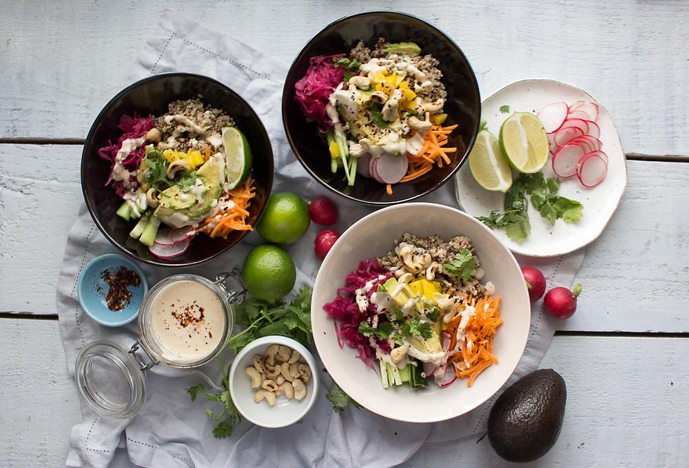 Image of Vegan Poke Bowls