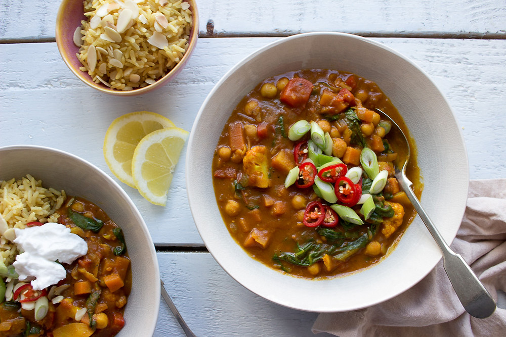 Image of Vegetable & Chickpea Curry