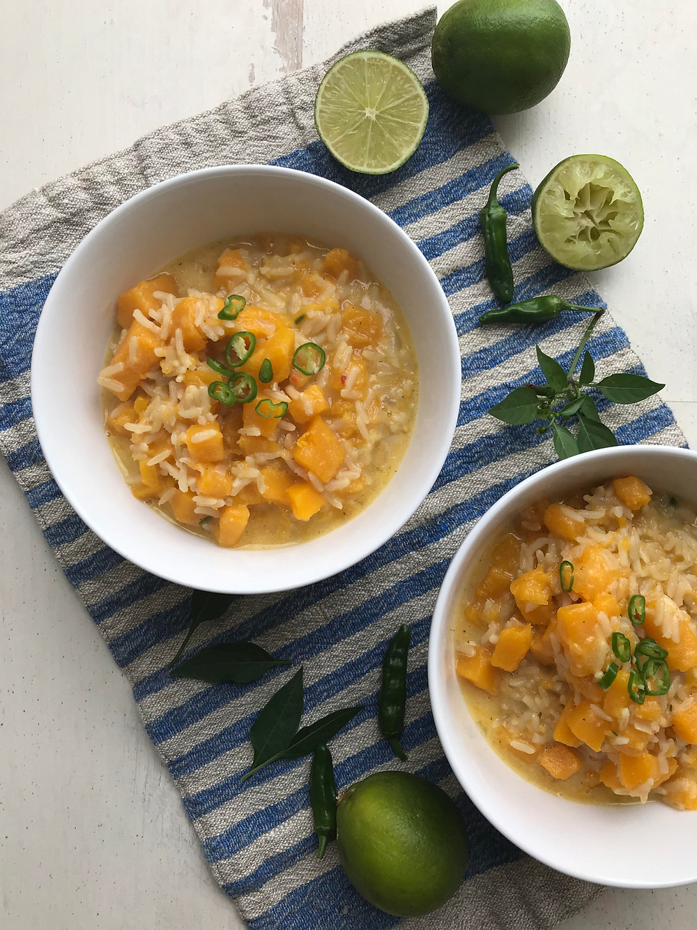 Coconut Rice with Butternut Squash
