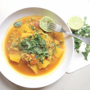 Recipe: Butternut Squash and Pea Curry