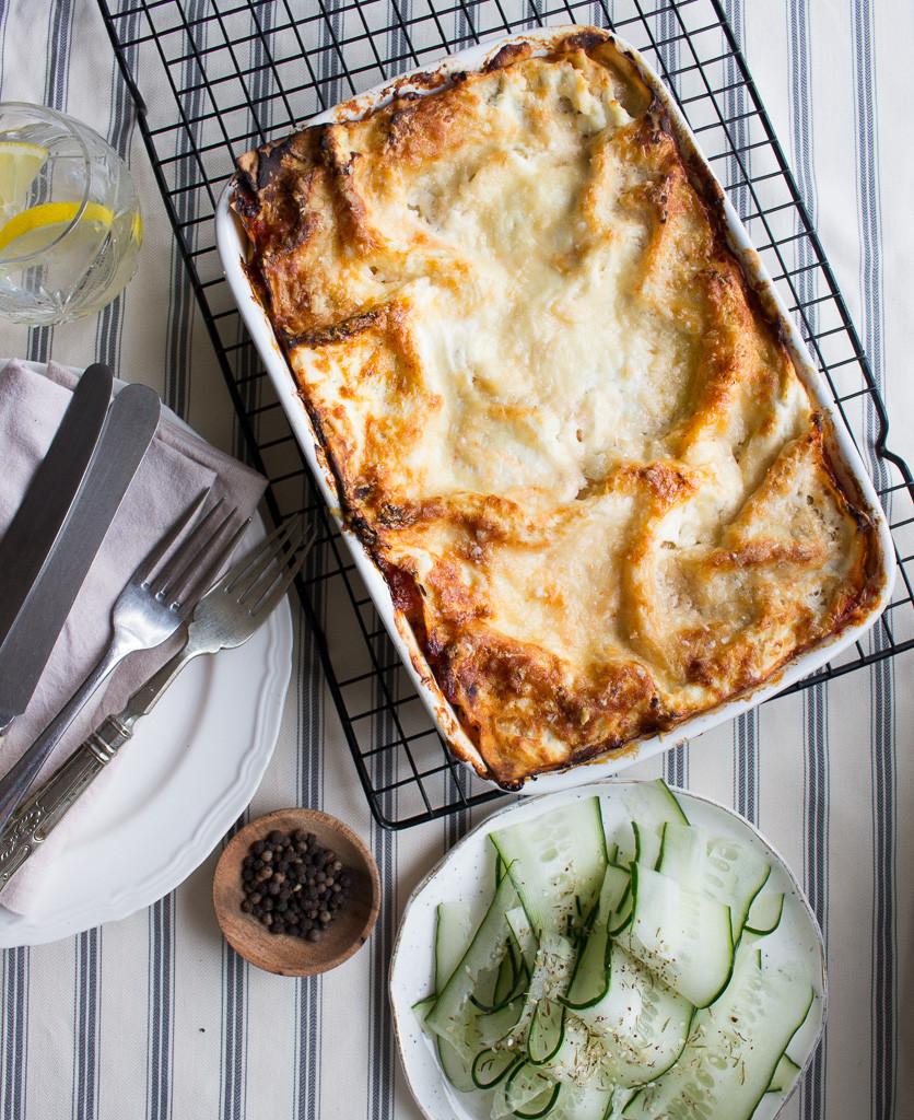 Image of vegetarian lasagne