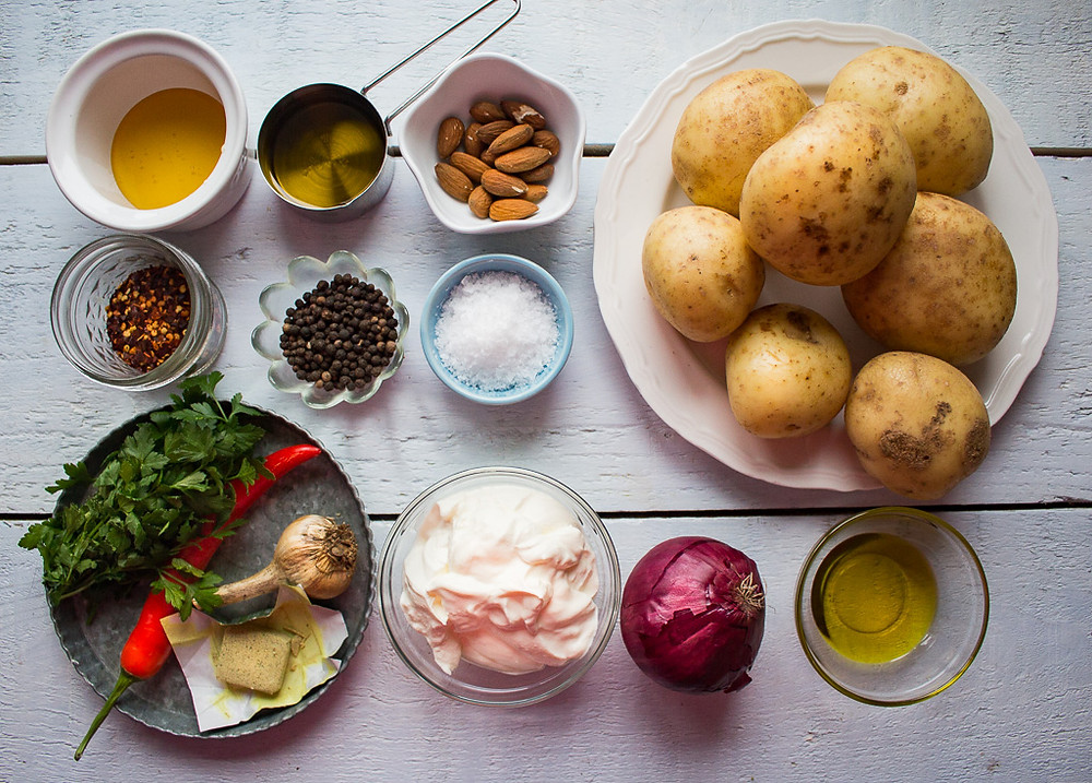 Ingredients for Potato Gratin