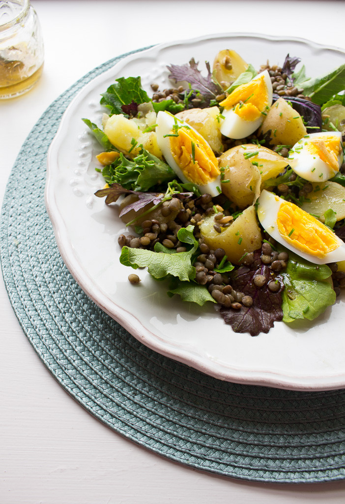 Photo of Potato, Egg & Lentil Salad