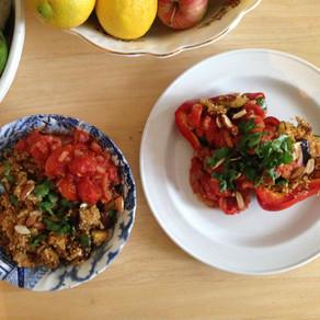 Recipe: Moroccan Style Quinoa with a Tomato Sauce