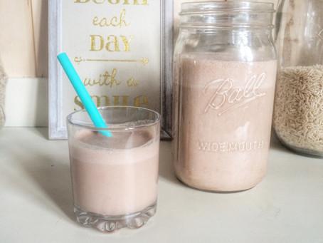 Three Minute Chocolate Cashew Milk