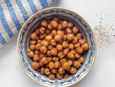 Recipe: Maple & Cinnamon Roasted Chickpeas