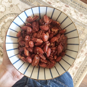 MAPLE BUTTER ROASTED NUTS