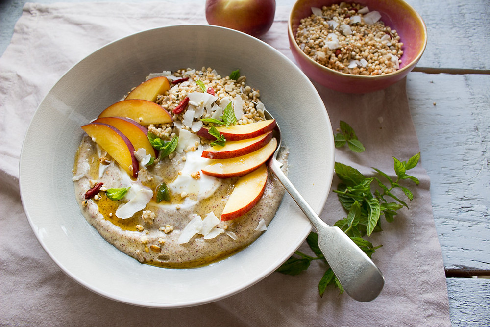 Image of Peach Smoothie Bowl