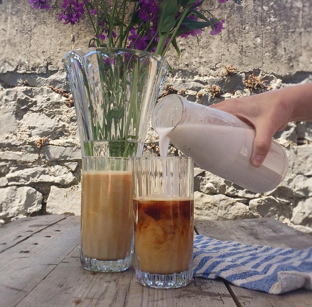 Iced Almond Milk Coffee