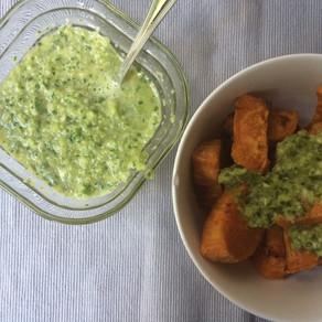 Recipe: Sweet Potato Green Mojo