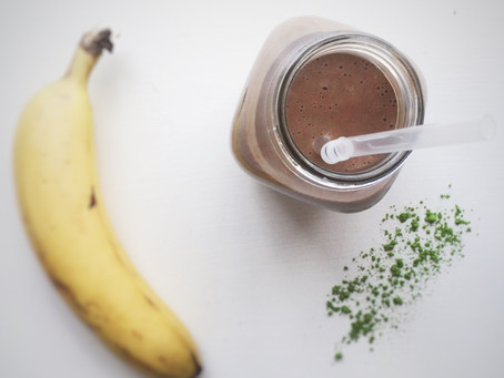 Recipe: Chocolate Matcha Antioxidant Smoothie