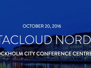 DLE deltar på Datacloud Nordic 19-20 oktober