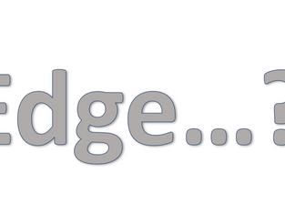 «Edge» - Hvordan forståes begrepet og hvor går utviklingen?