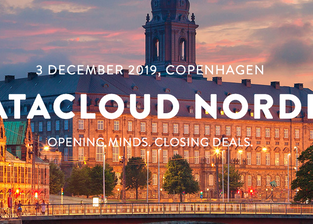 DLE deltar på Datacloud Nordic i København 3 desember