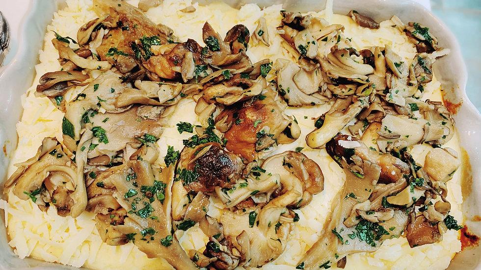 Triple Cheese & Mushroom Lasagne for 2