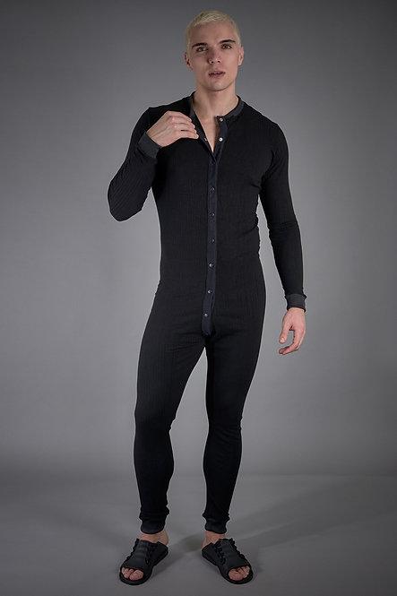 Pijama Onesie Black