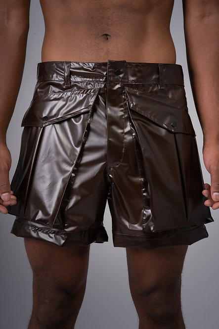 Plastic Soldier Shorts - Brown