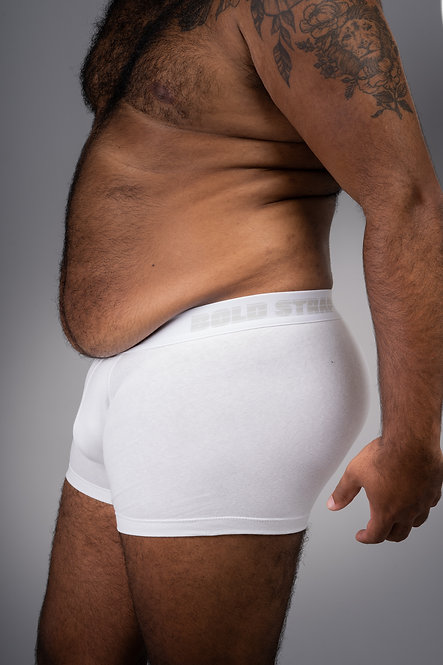 Bold Boxer Brief - White