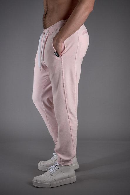 Pink Plush Pants