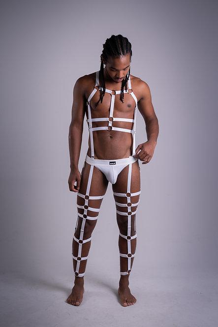 Body Harness Xtreme White
