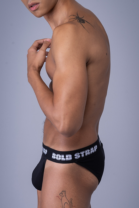 Cueca Sport Brief Black