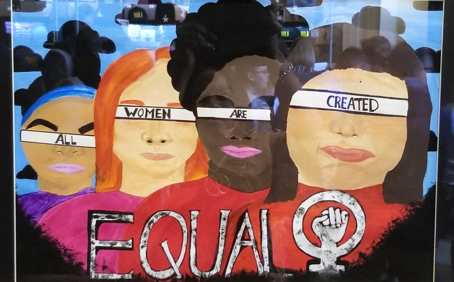 """""""All Women are Equal"""" by Clair Terpening"""