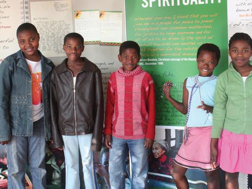 Local children visiting
