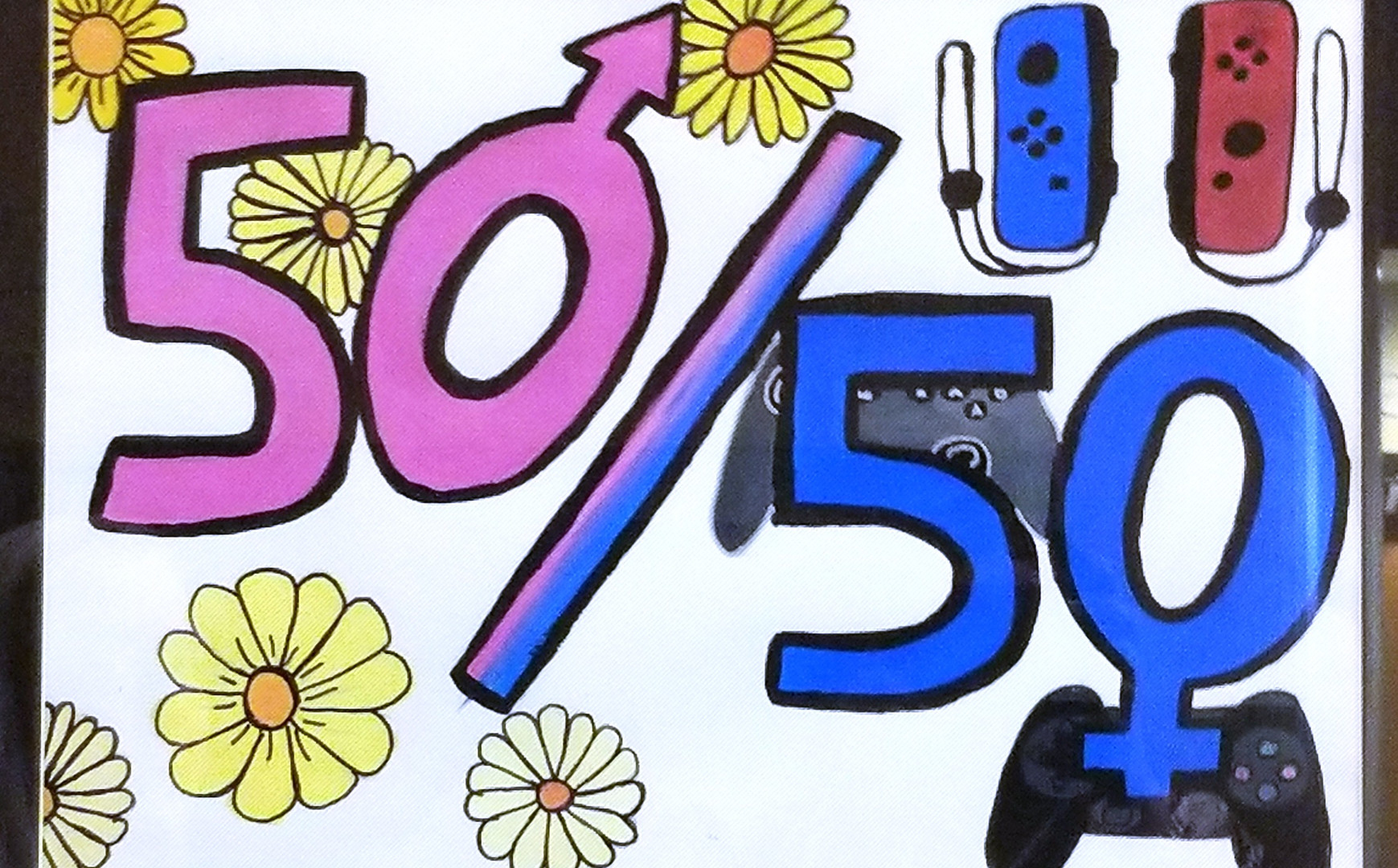 """""""Fifty Fifty"""" by Kaylie Markman"""