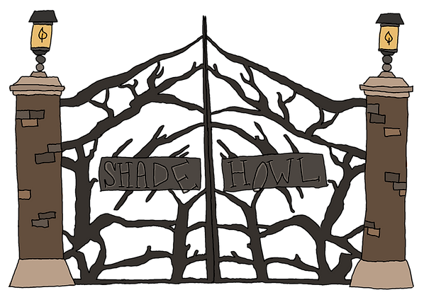 Shade Howl from the children's fantasy books, The Bone Grit Historeum
