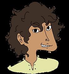 Dwyn from the middle grade fantasy books, The Bone Grit Historeum