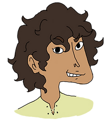 Dwyn from The Bone Grit Historeum - funny fantasy books