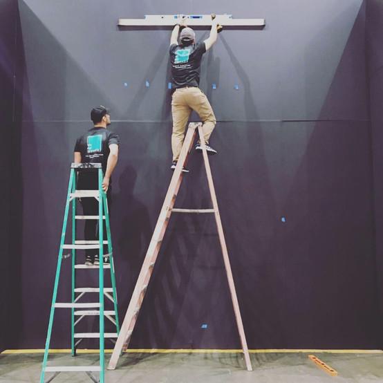 Art Installation Services at the LA Art Show 2019