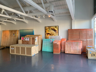 Packing and Wrapping Services at HOFA Gallery, Los Angeles, CA