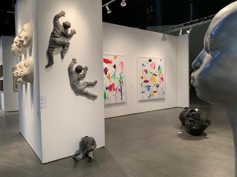 LA Art Show Installation