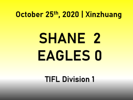 Shane Start Strongly to Defeat Eagles