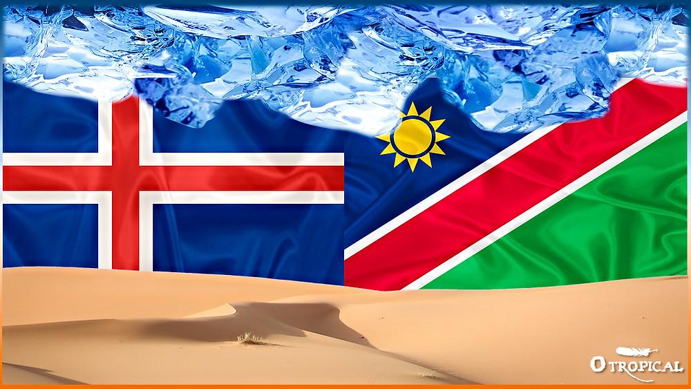 Embarque Islândia - Destino Namíbia - FAZ