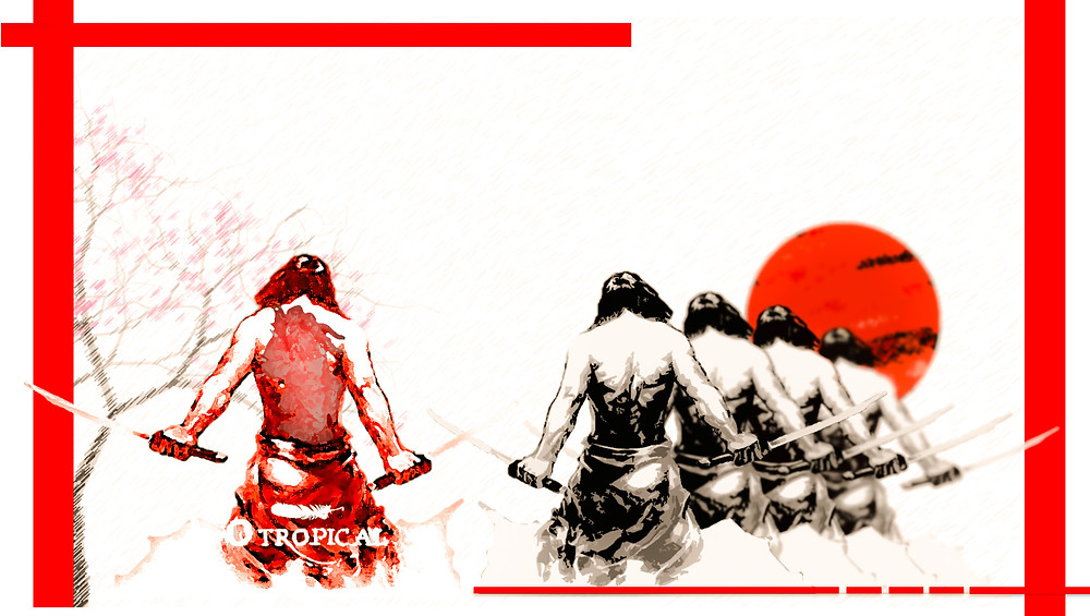 O Samurai e a Carpa (FAZ)