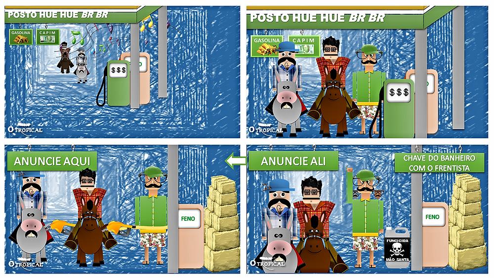 Dito & Feio - O Posto (1) - FAZ