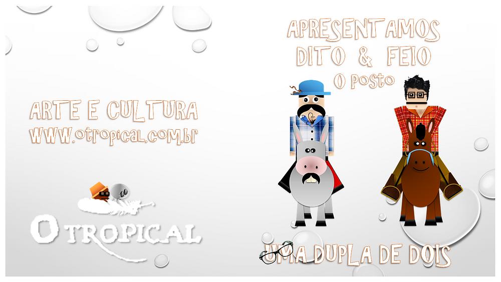 Dito & Feio - O Posto (Capa) - FAZ
